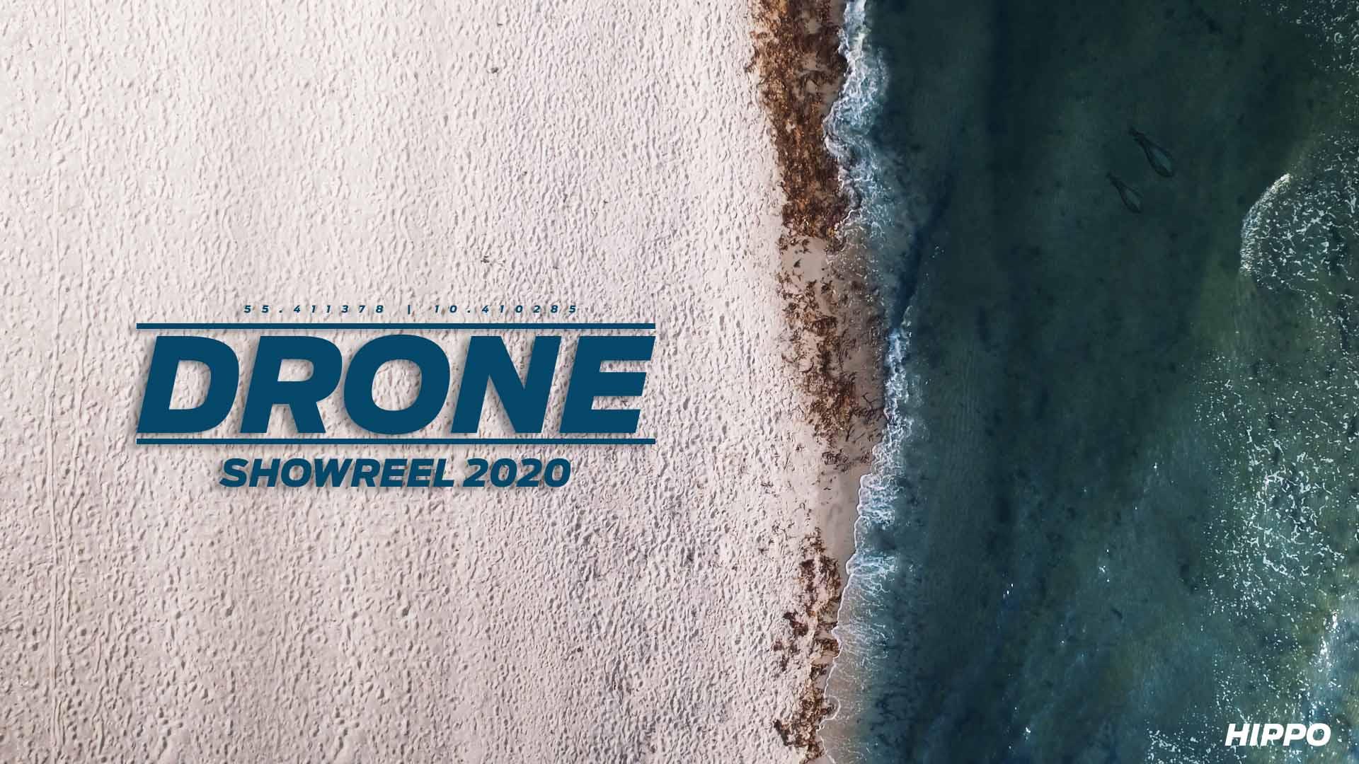 dronevideo fra luften