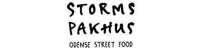 Logo af Storms Pakhus