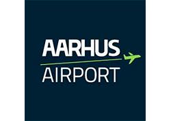 Logo af Aarhus lufthavn