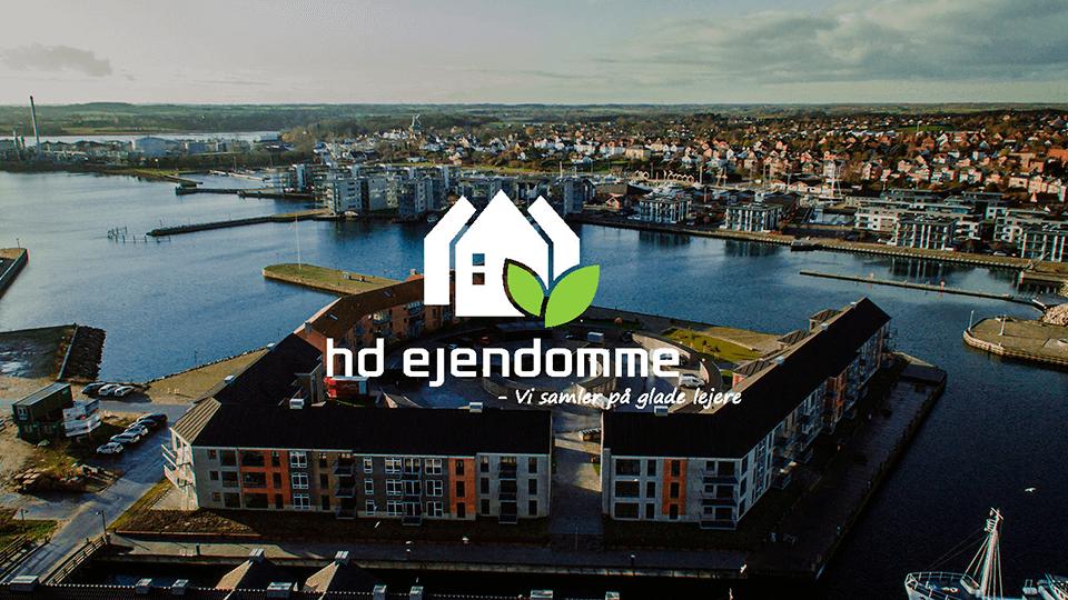 Dronevideo af HD ejendomme